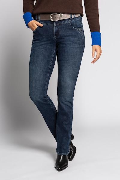 Gina Laura Jeans in dunkelblau, Modelansicht