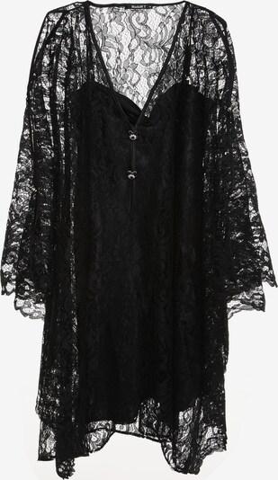 Madam-T Jurk in de kleur Zwart, Productweergave