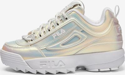 FILA Sneaker in gold / weiß, Produktansicht