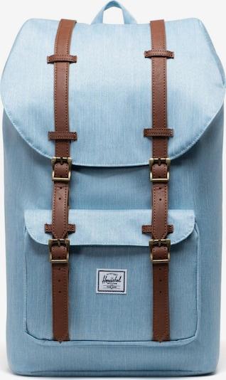 Zaino 'Little America' Herschel di colore blu chiaro / marrone, Visualizzazione prodotti
