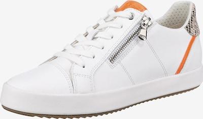 GEOX Sneaker 'Blomiee' in orange / naturweiß, Produktansicht