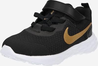 NIKE Sportschuh 'Revolution' in gold / schwarz, Produktansicht