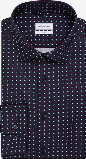 SEIDENSTICKER Business Hemd ' Slim ' in dunkelblau, Produktansicht