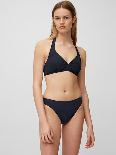 Marc O'Polo Triangle Bikini ' Solids ' in dunkelblau, Modelansicht