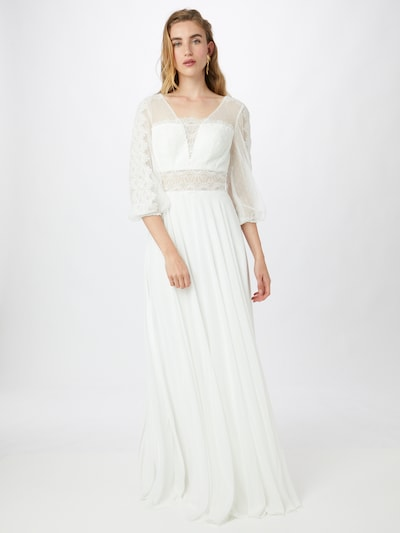 Rochie de seară MAGIC BRIDE pe alb murdar, Vizualizare model