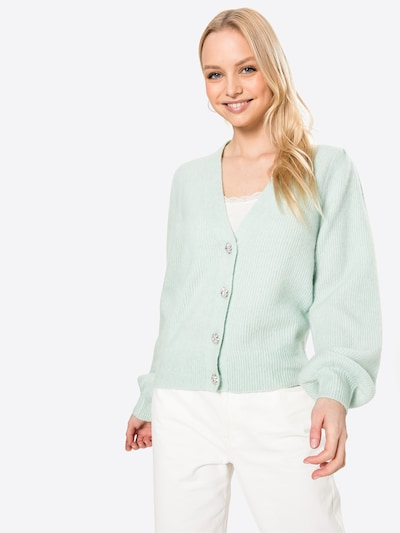 Neo Noir Knit cardigan 'Gimma' in Mint, View model