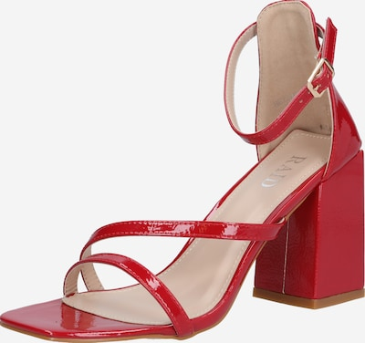 Raid Strap sandal 'BETHANY' in Red, Item view