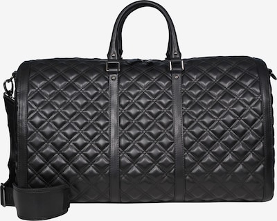Silvio Tossi Lederhand- und Schultertasche in schwarz, Produktansicht