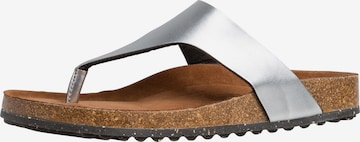 TAMARIS Slippers in Silver