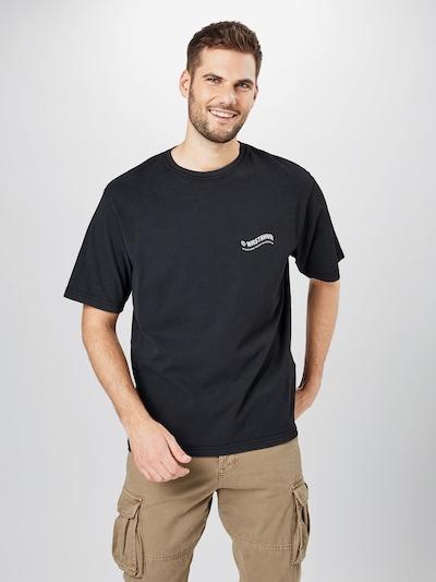 Marškinėliai iš Worst Behavior , spalva - juoda / balta: Vaizdas iš priekio