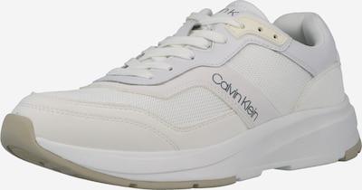 Calvin Klein Sneaker in pastellgelb / weiß, Produktansicht
