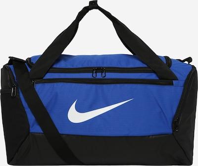 NIKE Sport-Tasche in blau / schwarz / weiß, Produktansicht