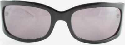 Max Mara ovale Sonnenbrille in One Size in grau / schwarz / weiß, Produktansicht