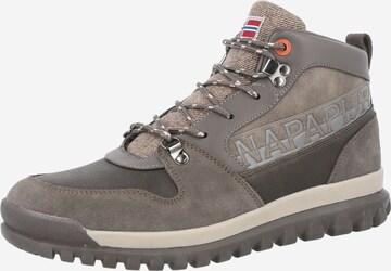 Boots stringati 'CRAG' di NAPAPIJRI in grigio