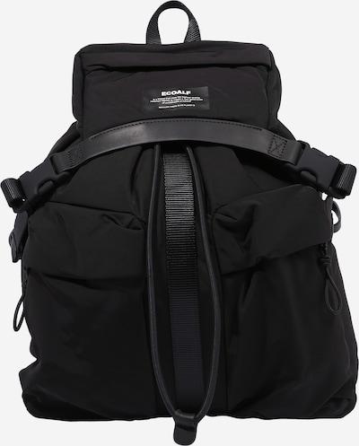 ECOALF Sac à dos 'HAGEN' en noir / blanc, Vue avec produit