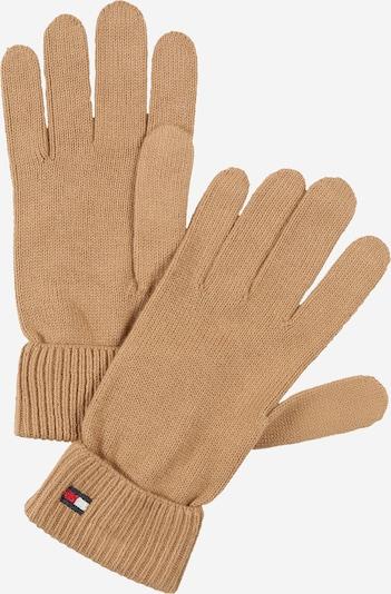 TOMMY HILFIGER Γάντια με δάχτυλα σε μπεζ / ναυτικό μπλε / κόκκινο / λευκό, Άποψη προϊόντος