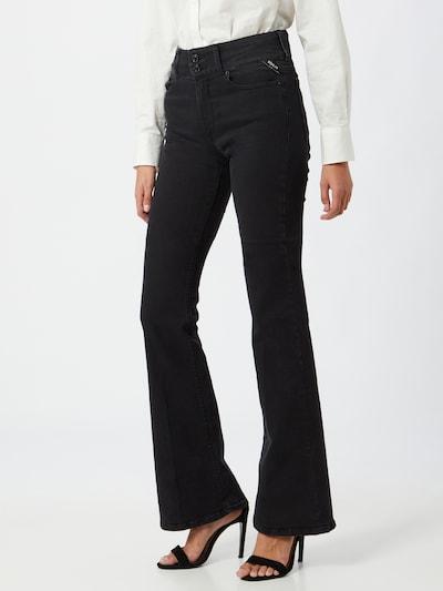 REPLAY Jeans 'New Luz' in de kleur Zwart, Modelweergave