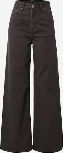 Dr. Denim Jeans 'Aiko' i svart: Sedd framifrån