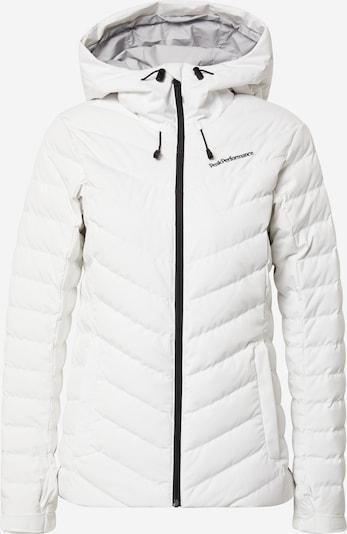 PEAK PERFORMANCE Outdoor jacket in white, Item view