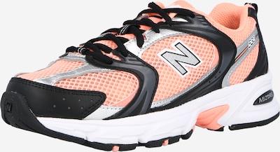 rózsaszín / fekete new balance Rövid szárú edzőcipők '530', Termék nézet