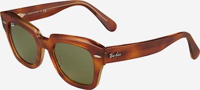 Ochelari de soare Ray-Ban pe bej / maro, Vizualizare produs
