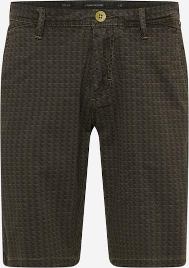 Pantaloni eleganți No Excess pe oliv / verde pin, Vizualizare produs
