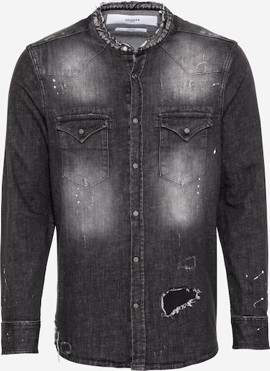 Goldgarn Camisa 'Wasserturm' en gris oscuro, Vista del producto
