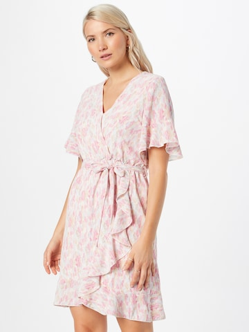 SISTERS POINT Shirt Dress 'NEW GRETO-14' in Pink