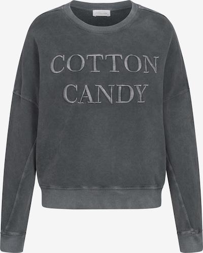 Cotton Candy Sweatshirt 'ROSE' in schwarz, Produktansicht