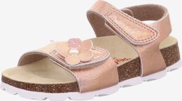 SUPERFIT Sandale in Bronze