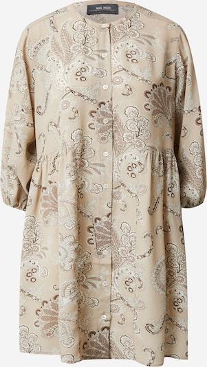 MOS MOSH Skjortklänning 'Jemma Persia' i beige / mörkbeige / vit, Produktvy