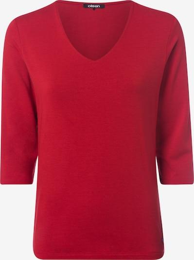 Olsen Shirt in rot, Produktansicht