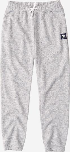 Kelnės iš Abercrombie & Fitch , spalva - šviesiai pilka, Prekių apžvalga