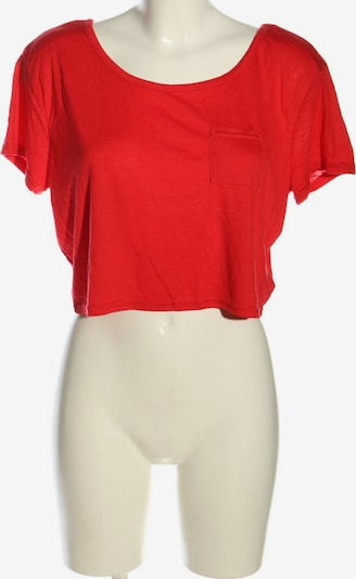 Crazy World Cropped Top in M in rot, Produktansicht