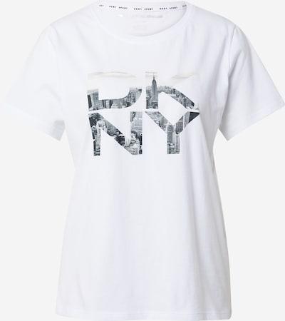 DKNY Performance T-shirt fonctionnel en marine / blanc, Vue avec produit