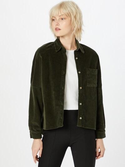 mazine Bluse 'Lida' in oliv, Modelansicht