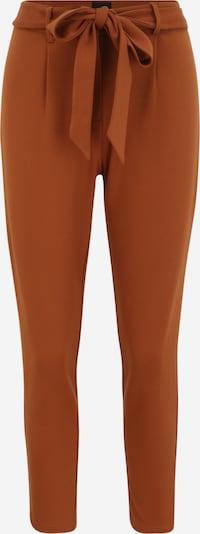 Pieces (Petite) Kalhoty se sklady v pase 'BEATE' - hnědá, Produkt