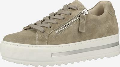 GABOR Sneakers laag in de kleur Grijs: Vooraanzicht