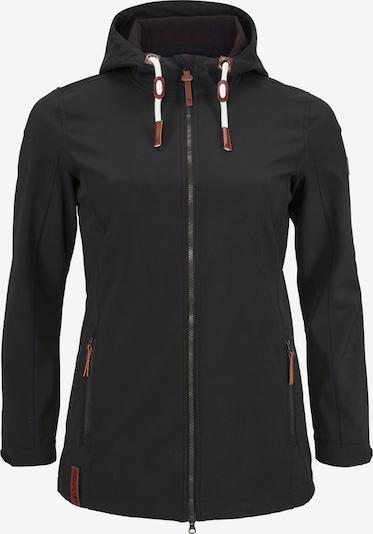 OCEAN SPORTSWEAR Athletic Jacket in Light brown / Grey / Dark grey / Black, Item view