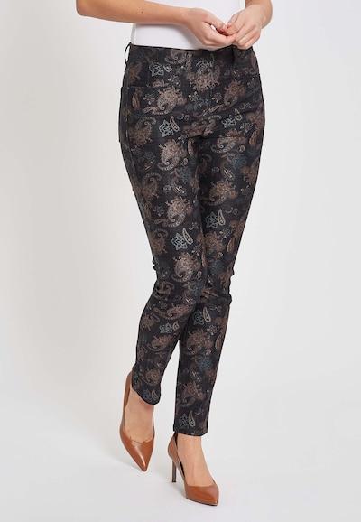 LauRie Jeans 'Laura' in de kleur Zwart, Modelweergave
