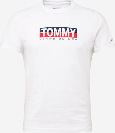 Tommy Jeans T-Shirt in navy / rot / weiß: Frontalansicht