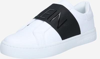 Scarpa slip-on Calvin Klein Jeans di colore nero / bianco, Visualizzazione prodotti
