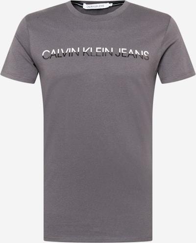 Calvin Klein Jeans Shirt in Graphite / Black / White, Item view
