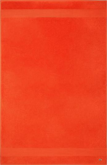 LACOSTE Badetuch 'LE CROCO' in orange, Produktansicht