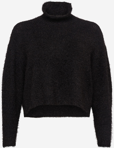 Urban Classics Curvy Pulover | črna barva, Prikaz izdelka