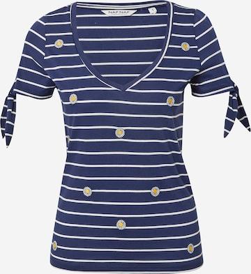 NAF NAF Shirt 'REJINA DAISY' in Blue