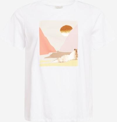 Marškinėliai iš KAFFE CURVE, spalva – balta, Prekių apžvalga