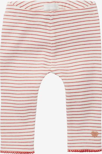Noppies Leggings 'Mehna' in rot / weiß, Produktansicht