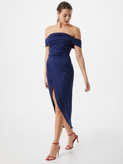 TFNC Kleid 'GRACE' in navy, Modelansicht