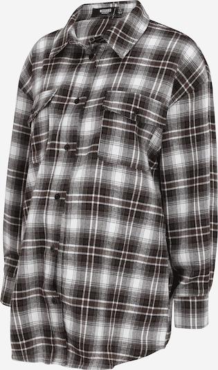 Missguided Maternity Blusa en marrón / negro / blanco, Vista del producto